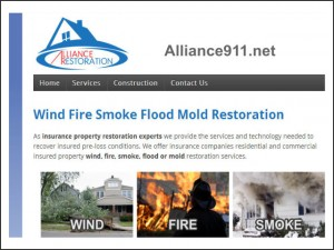 alliance restoration site launch graphic