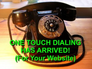 old fashioned telephone plus text