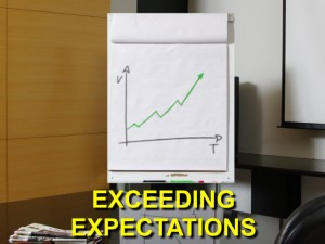 exceeding expectations grtaphic